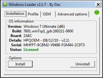 windows loader 2.1 pour windows 7 edition integrale gratuit